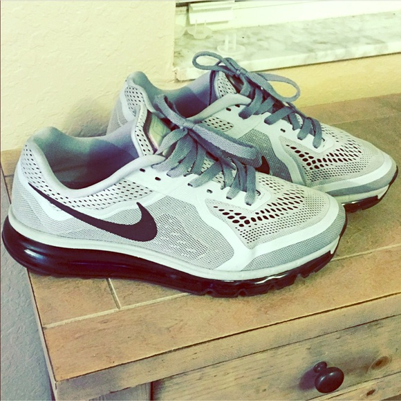 best sneakers 19c8c e7cd9 Nike Air Max 2014 Wolf Grey Blk Size 11. M 5b0572de46aa7c903147bc7f